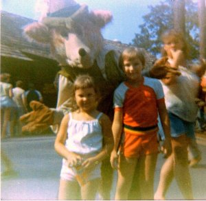 Me and My brother at Busch gardens.