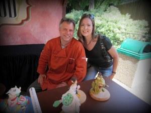 Burton was so much fun to meet!  What talent!