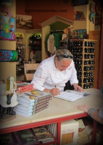 Book Signing in Bella casa Gift Shop