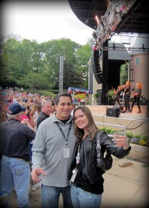 From the Styx concert~ best wishes always!