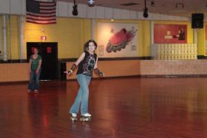 Me Roller Skating Now