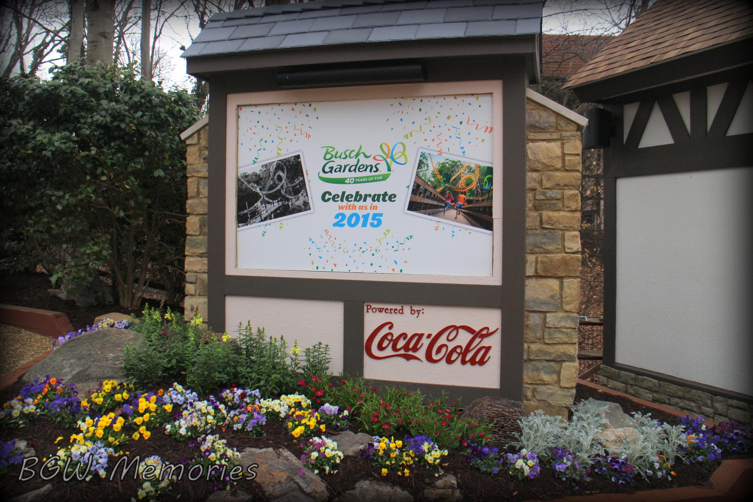 Busch Gardens 40th Anniversary Bgw Memories