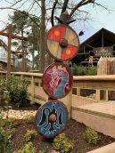 Norse Art on Wooden Shields